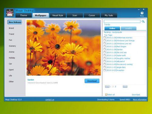 Ommoo Magic Desktop gratis