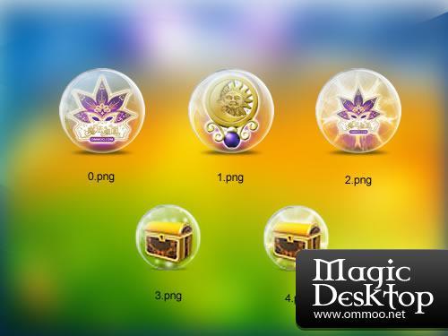 Ommoo Magic Desktop gratis downloaden