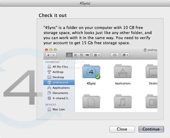 4Sync gratis downloaden