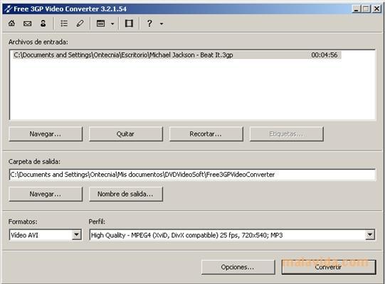Free 3GP Video Converter gratis