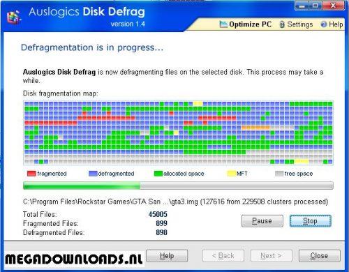 Disk-Defrag gratis