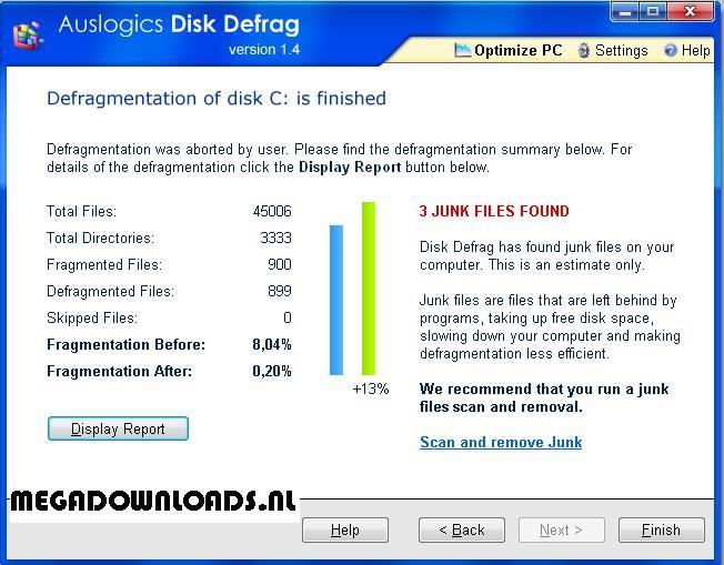Disk-Defrag gratis downloaden