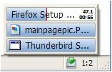 Download Statusbar screenshot