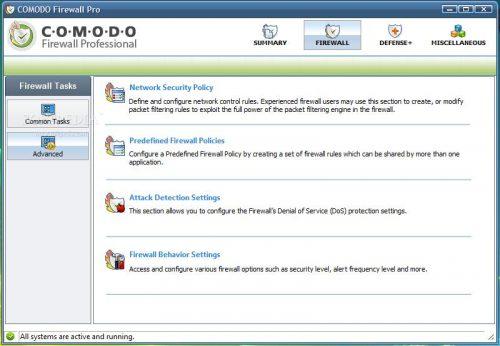 Comodo Firewall Pro gratis