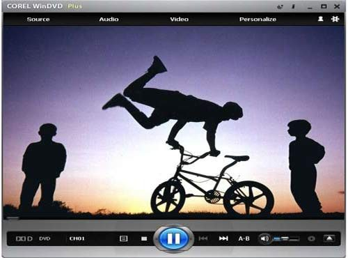 Corel Win DVD gratis