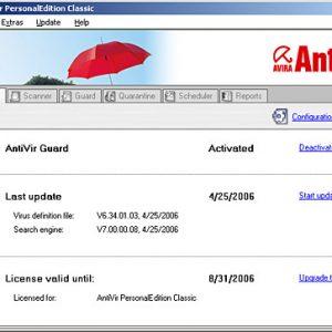 Avira AntiVir Personal gratis
