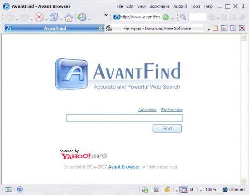 Avant Browser gratis