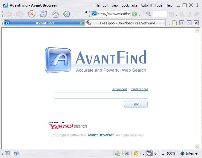 Avant Browser gratis