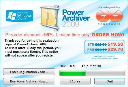 PowerArchiver gratis