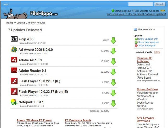 Update Checker gratis downloaden