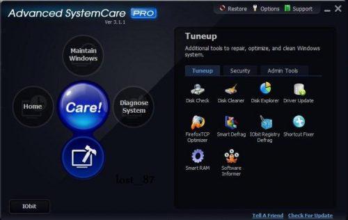 Advanced SystemCare Free gratis