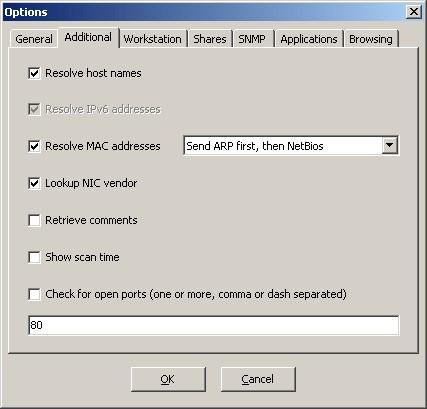 Network Scanner screenshot