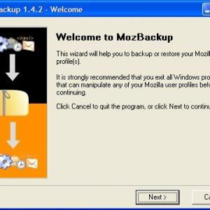 Mozbackup gratis