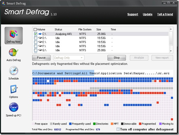 Smart Defrag gratis downloaden