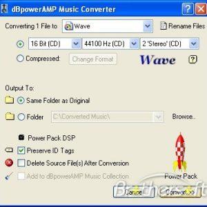 dBpower AMP Music Converter gratis