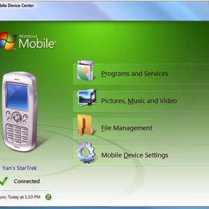Windows Mobile Device Center gratis