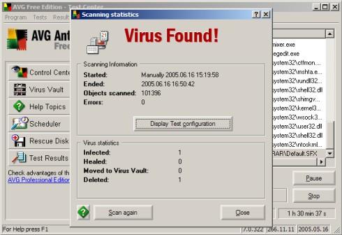 AVG FREE antivirus gratis