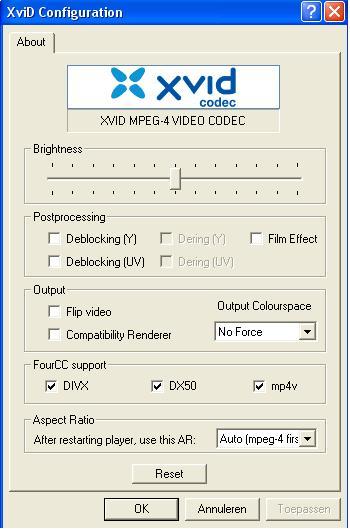 XviD Codec gratis