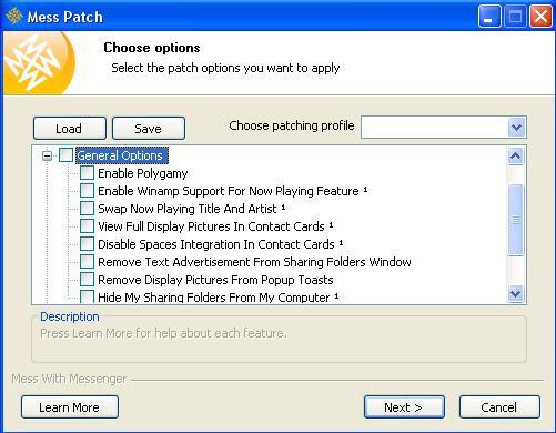 Mess Patch gratis downloaden