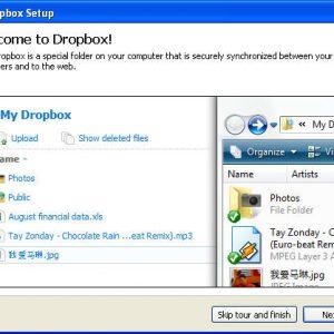 DropBox gratis