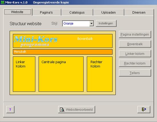 Mini-Kors: Websites maken kan iedereen. gratis