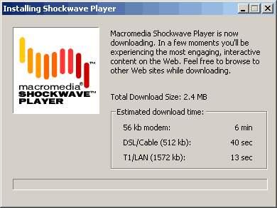 Shockwave Player gratis