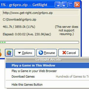 Getright PRO Download Manager gratis