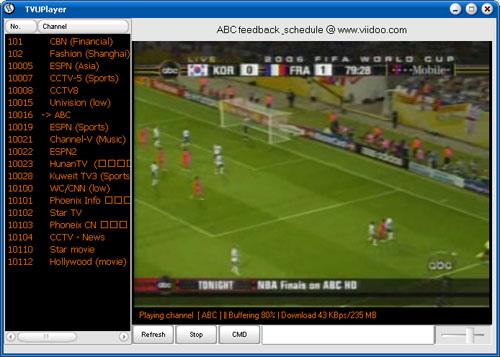 TVU player gratis downloaden