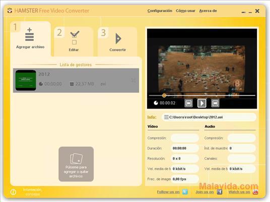 Hamster Free Video Converter gratis