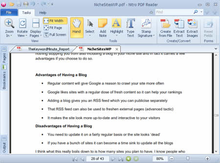Nitro PDF Reader gratis downloaden
