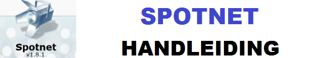 spotnet handleiding